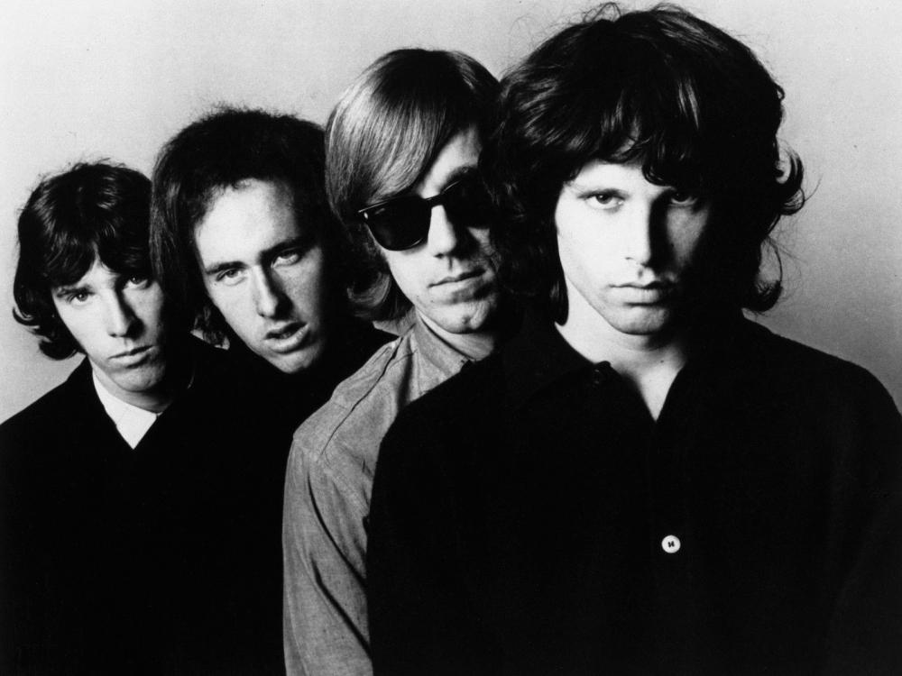 The Doors Elektra Records PR photo
